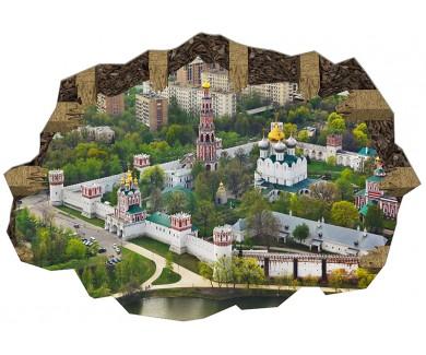 Наклейка на пол Новодевичьий монастырь, Москва