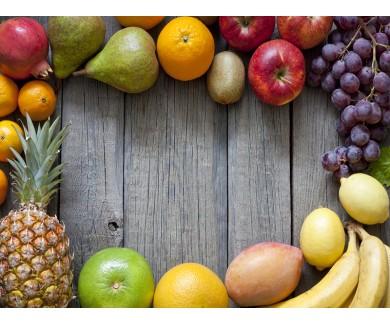 Наклейка на пол Свежие фрукты