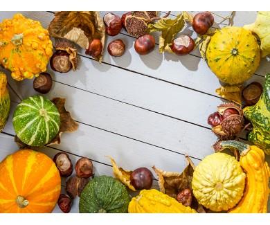 Наклейка на пол Осенний урожай