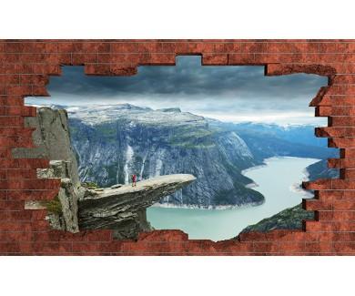 Наклейка на стену Пейзажи Норвегии